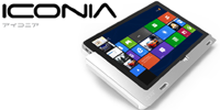 ICONIA TAB W500にWindows10その1